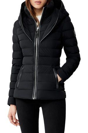 Mackage Women's Andrea Hooded Down Puffer Coat - - Size XL