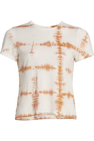 A.L.C. Women's Bambina Tie-Dye T-Shirt - Desert - Size Large