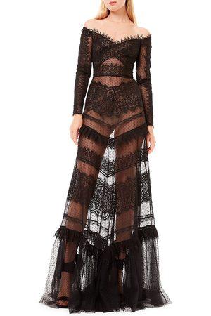 Zuhair Murad Women's Jatuarana Lace Off-The-Shoulder Gown - - Size 6