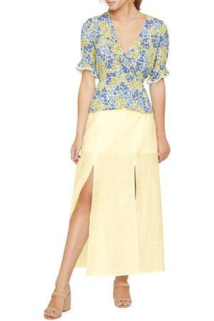 Lost + Wander Women's Slit Midi Skirt