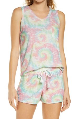 Emerson Road Women's Tie Dye Women's Short Pajamas