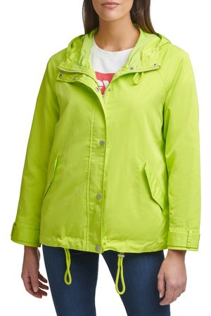 Levi's Women's Water Resistant Hooded Rain Jacket