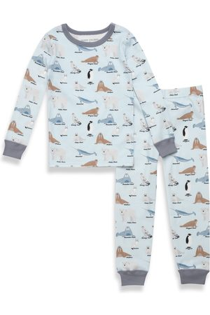 PAJAMAS FOR PEACE Boy's Kids' Arctic Animals Fitted Two-Piece Pajamas