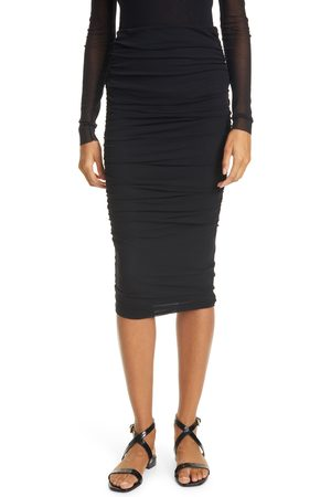 FUZZI Women's Ruched Tulle Skirt