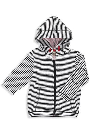 Me & Henry Baby's and Little Boy's Stripe Toweling Hoodie - - Size 5