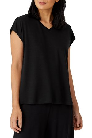 Eileen Fisher Women's V-Neck Boxy Top