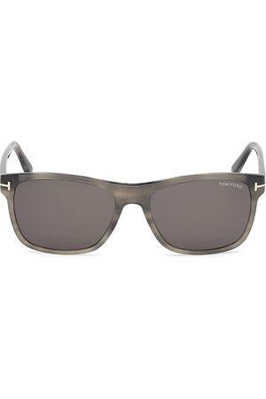 Tom Ford Men's 57MM Rectangular Sunglasses