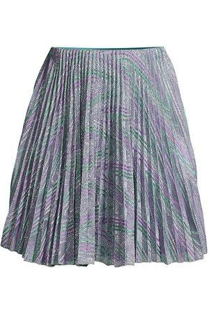M Missoni Women's Pleated Mini Skirt - Mal - Size Large