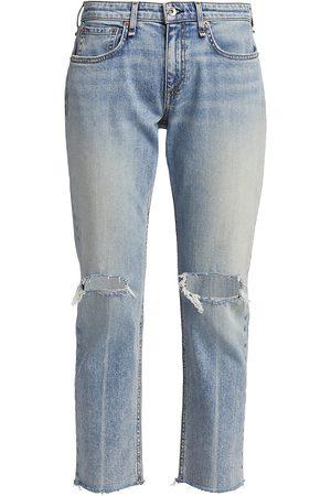 RAG&BONE Women's Dre Low-Rise Slim-Fit Boyfriend Jeans - Stella - Size 30