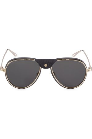Cartier Women's Core Range 60MM Aviator Sunglasses - Grey