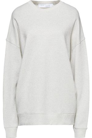 IRO Woman Regent Metallic French Cotton-blend Terry Sweatshirt Light Size M