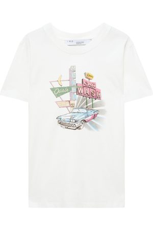 IRO Woman Caylar Printed Cotton-jersey T-shirt Size XS