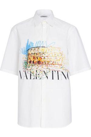 VALENTINO Roman skeches shirt