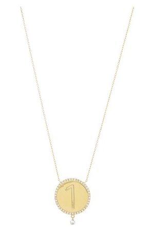 PERSÉE Diamond necklace medallion 1