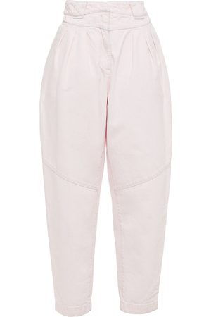 IRO Woman Marmon High-rise Tapered Jeans Blush Size 36