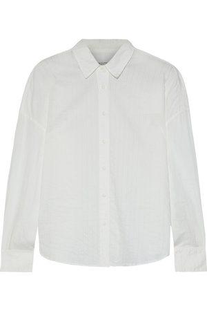 RAG&BONE Woman Cotton-jacquard Shirt Size XS