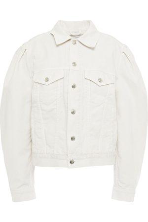 IRO Women Denim Jackets - Woman Abazia Denim Jacket Off- Size 34