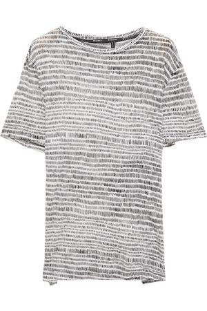 Proenza Schouler Woman Printed Slub Cotton-jersey T-shirt Size L