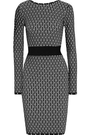 Hervé Léger Hervé Léger Woman Jacquard-knit Dress Size M