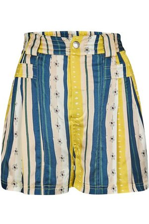 KOCHÉ Striped shorts