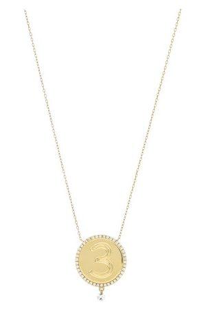 PERSÉE Diamond necklace medallion 3