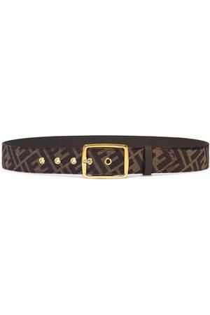 Fendi Ff Canvas Belt