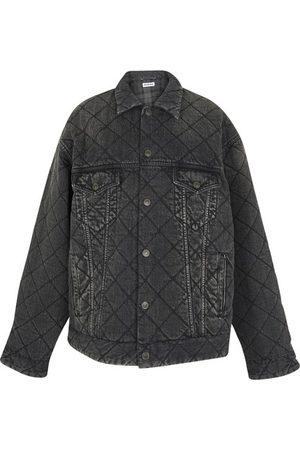 Balenciaga Quilted Denim Jacket