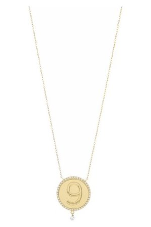 PERSÉE Diamond necklace medallion 9