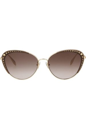 Alexander McQueen Glasses with thin temples
