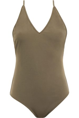 ANINE BING Woman Military Swimsuit Army Size XS