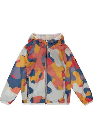 save the duck Camouflage Print Nylon Jacket