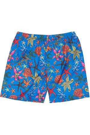 VERSACE Girls Swimwear - Tresure The La Mer Nylon Swim Shorts