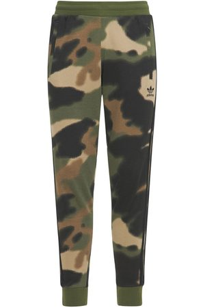adidas Camo 3 Stripes Cotton Sweatpants