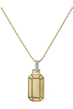 Eera Small Tokyo 18kt & Diamond Necklace