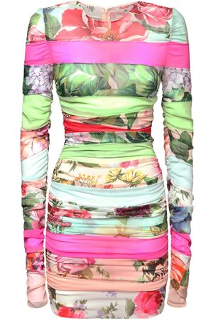 Dolce & Gabbana Silk Chiffon Georgette Mini Dress
