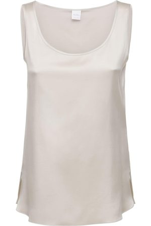 Max Mara Silk Satin Tank Top