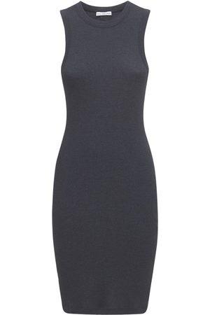 James Perse Women Tank Tops - Cotton Blend Rib Tank Dress