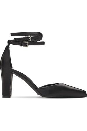 Max Mara Women Heels - 80mm Gaiapv Leather Pumps