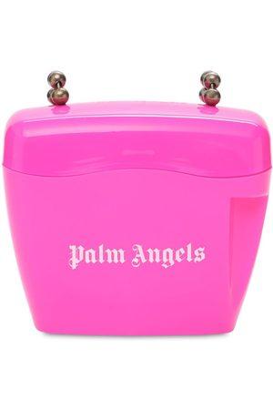 Palm Angels Women Shoulder Bags - Mini Padlock Shoulder Bag