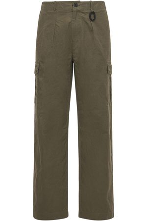 McQ Men Cargo Pants - Albion Ripstop Straight Leg Cargo Pants