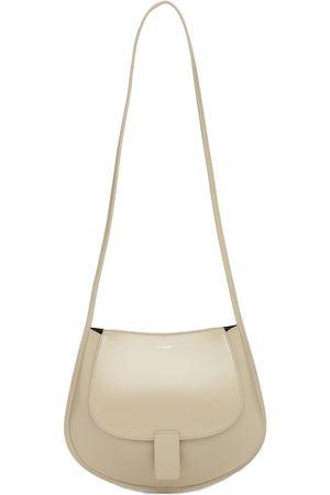 Jil Sander Women Shoulder Bags - Sm Crescent Leather Shoulder Bag