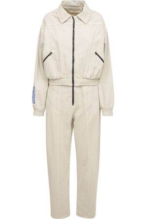 McQ Women Jumpsuits - Fantasma Cotton Blend Jumpsuit