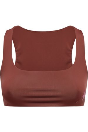 The Attico Women Crop Tops - Olga Lycra Crop Top