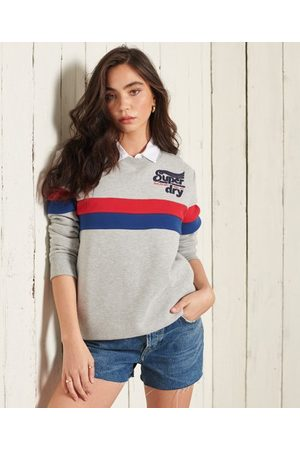 Superdry Women Sweatshirts - Collegiate Cut & Sew Sweatshirt