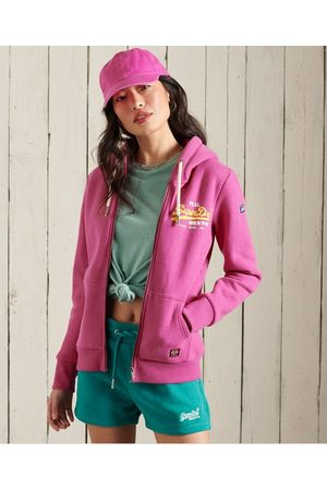 Superdry Women Hoodies - Vintage Logo Duo Zip Hoodie