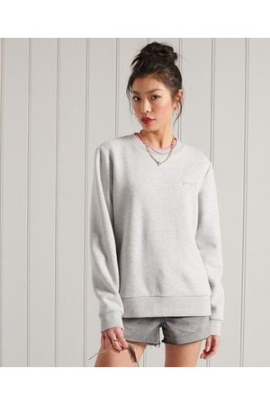 Superdry Women Sweatshirts - Orange Label Classic Sweatshirt