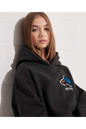 Superdry Women Hoodies - Modern Franchise Oversized Hoodie