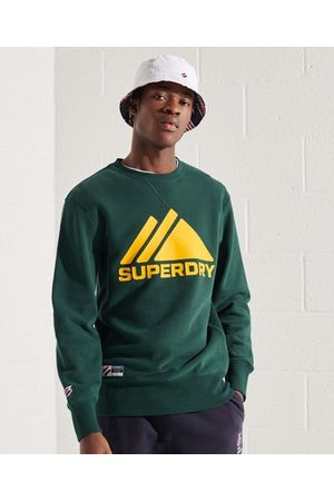 Superdry Men Hoodies - Mountain Sport Mono Crew Sweatshirt