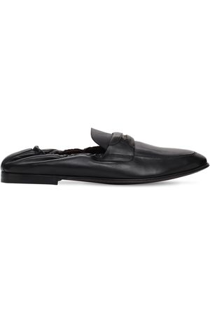 Dolce & Gabbana Men Loafers - Ariosto Leather Loafers