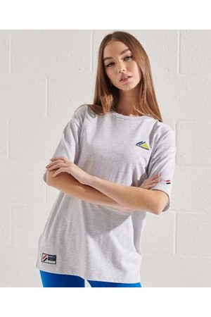 Superdry Women T-shirts - Mountain Sport Embroidered T-Shirt